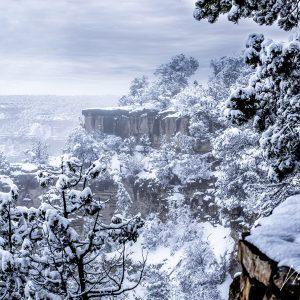 Grand Canyon Las Vegas sous la neige